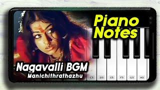 Nagavalli Theme BGM Mobile Piano Manichithrathazhu   Mobile Piano Cover   Android Piano  