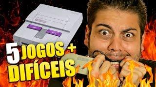 Top 5 jogos mais difíceis do Super Nintendo!
