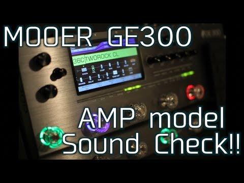 ブログ】Mooer GE300発売!動画も出ています!使いやすさと音の