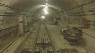 Drone explores long-awaited 2nd Avenue NYC subway line