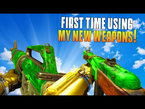 FIRST TIME USING THE PPSH AND M16! (Black Ops 3 New Weapons Gameplay & Funny Moments) - MatMicMar