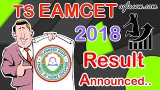TS EAMCET 2018 Result Announced! Know How to Check Rank