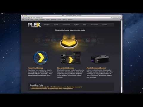 Plex Media Server OS X Part 1: Installation & Set Up