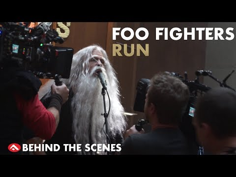 Behind the Scenes on The Foo Fighter's