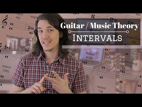 Intervals Music / Guitar Theory - Axe Tuts S02E07