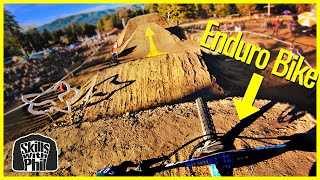 Racing The US OPEN Downhill on an Enduro Bike  // Fox US Open Part 3 of 3