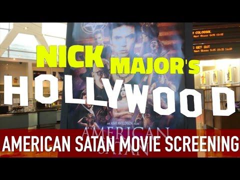 Nick Major's Hollywood: Andy Biersack's 'American Satan' Movie Screening