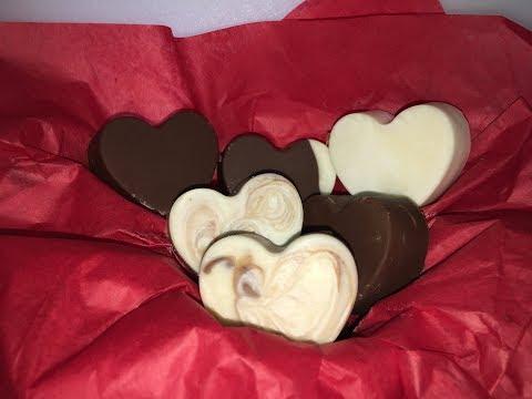 DIY Valentines Chocolate Treats