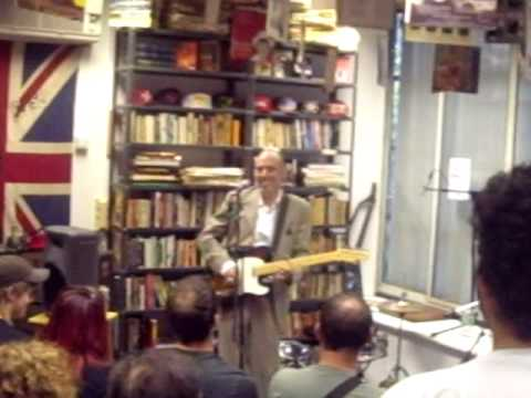 Stay Free-Mick Jones (The Clash) at the Rock Public Library
