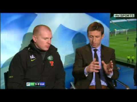 Neil Lennon Post-Match Interview. Celtic 3 - 0 Rangers 20/02/2011