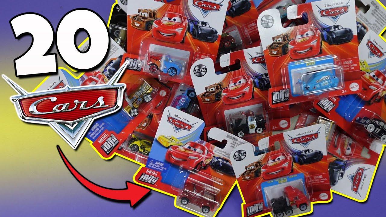 Directo al coleccionador -  Abri 20 MINI RACERS CARS de Disney