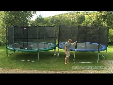 Kjempebra Sikkerhetsnett til trampolinen - Hoppeeksperten, NO - YouTube UR-59