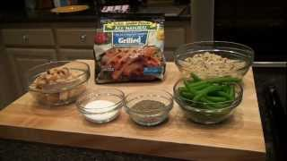 Grilled Chicken on Wild Rice Recipe - Chef Lance Youngs