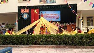 Múa hào khí việt nam hay nhất từ trước đến nay chào mừng 20/11 trường THPT Vĩnh Tường