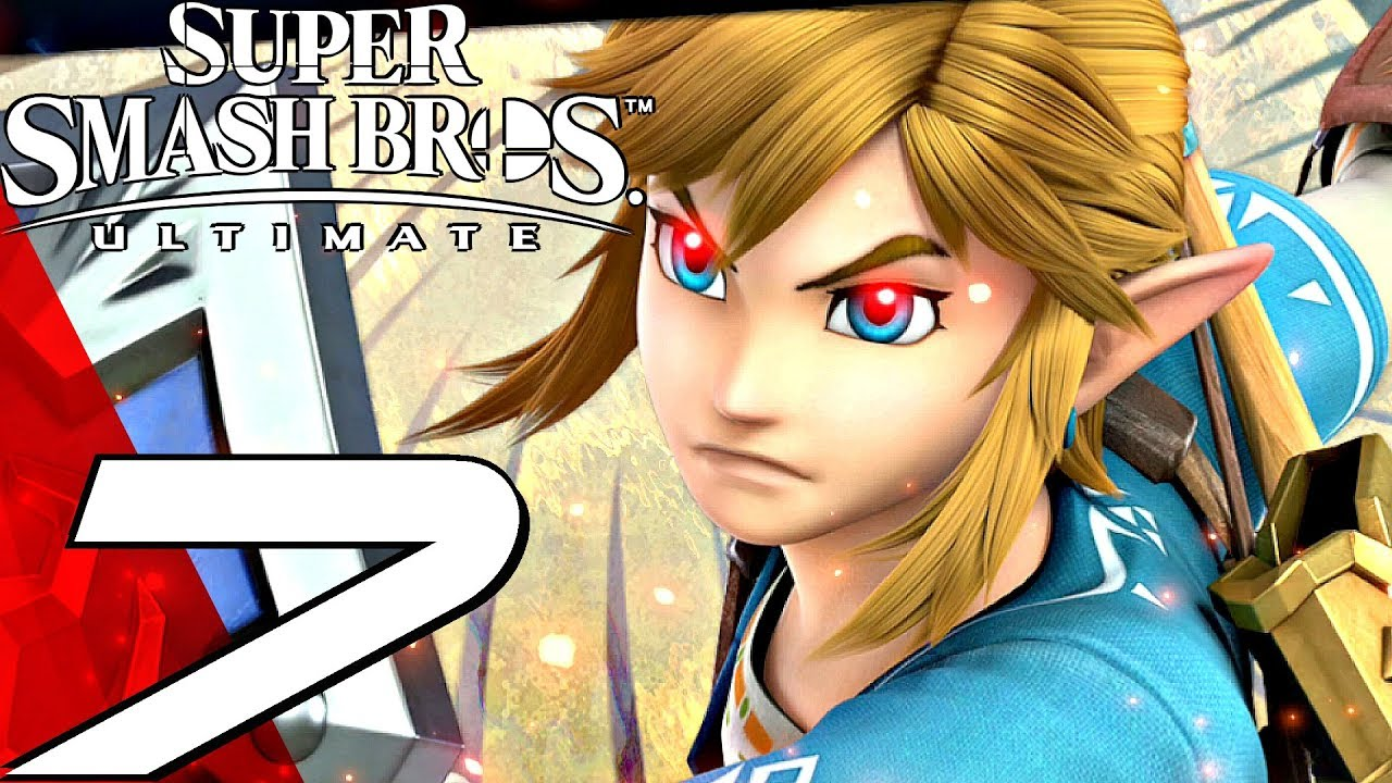 Super Smash Bros Ultimate Gameplay Walkthrough Part 7 Link