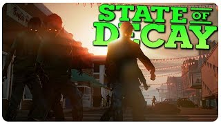 ZOMBIE HORDES INVADE, We Need Outposts!   State of Decay Gameplay #11 (Mods)