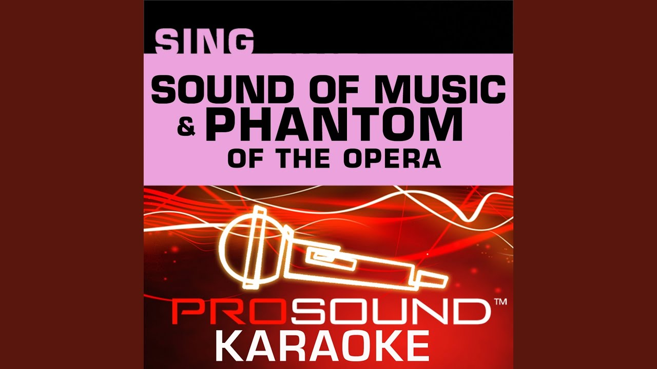 Wishing You Were Somehow Here Again Karaoke Lead Vocal Demo In The Style Of Phantom Of The