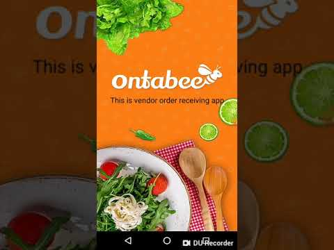 Food ordering app demo Android, iOS for customer
