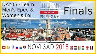 European Championships 2018 Novi Sad Day05 Finals