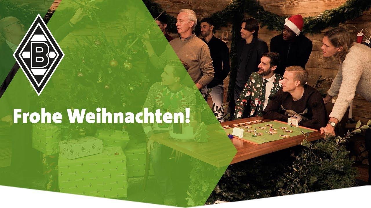 Weihnachtsessen Mönchengladbach.Die Fohlenelf Wünscht Frohe Weihnachten
