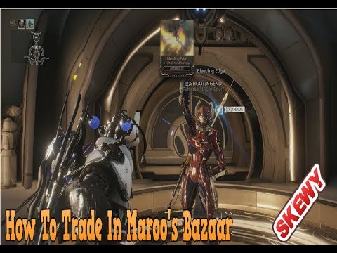Warframe : How To Trade Between Players On Console