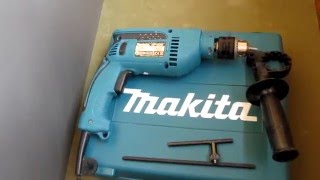 Обзор ударной дрели Makita HP1640К