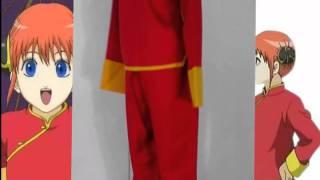 Miccostumes.com - Gintama Kagura Combat Cosplay Costume