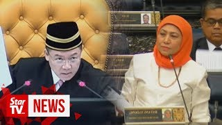 This is not pasar malam, this is Parliament: Deputy Speaker tells MP