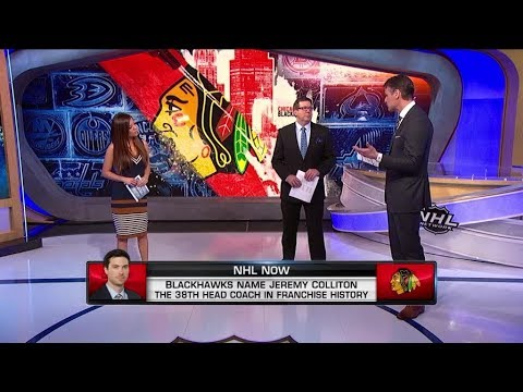 NHL Now:  Blackhawks reactions:  Reacting to Quenneville dismissal, Colliton promotion  Nov 6,  2018
