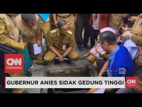 Air Tanah di Jakarta Disorot New York Times, Anies Sidak Gedung Yang Langgar Aturan