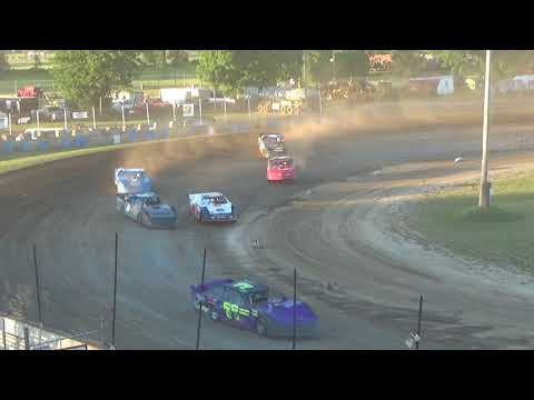 Pro Stock Heat Race #2 at Crystal Motor Speedway on 07-07-2018