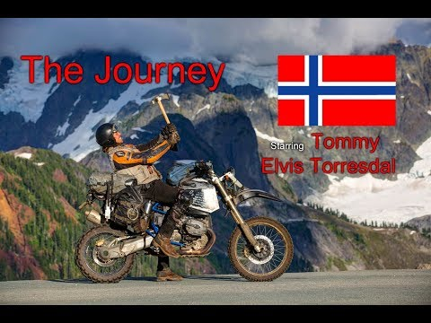 The Journey of a Motorcycle Traveler | Tommy Elvis Torresdal 🇳🇴 | 8 Years Around the World | BMW HP2 streaming vf