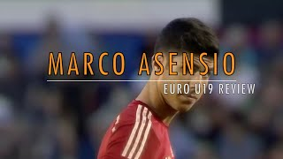 MARCO ASENSIO | REAL MADRID | SPAIN | EURO U19 REVIEW | HD