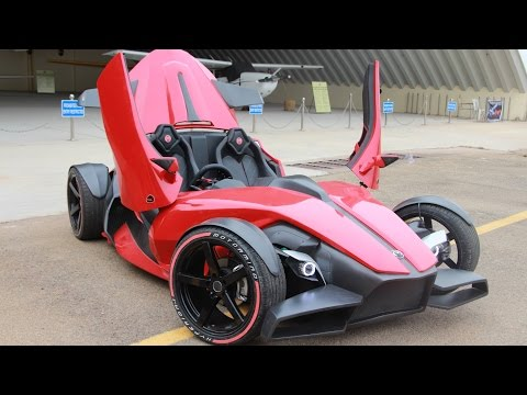 Indian Supercar Hyperion 1 by Motormind Designs Bangalore. Vroom 2016