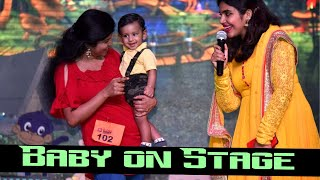 Baby's Stage performance in 9 months | baby contest vlog Abu Dhabi Malayalam | Ramp walk with baby