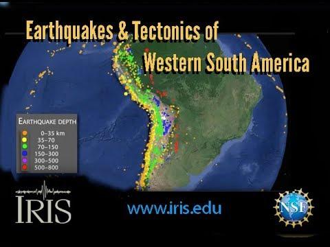 Earthquakes & Tectonics of Western South America
