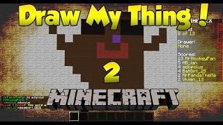Minecraft: Draw My Thing #2 - HOW TO DRAW A HAMSTER?