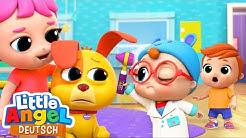 Klein Joni ist heute unser Doktor | Arztspiele | Little Angel Deutsch