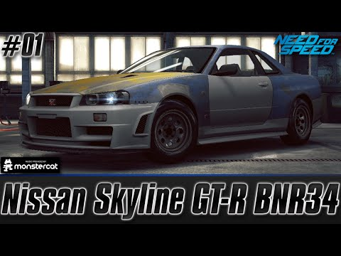 Need For Speed No Limits: Nissan Skyline GT-R BNR34 | #I AM THE SPEEDHUNTER (Chapter 1)