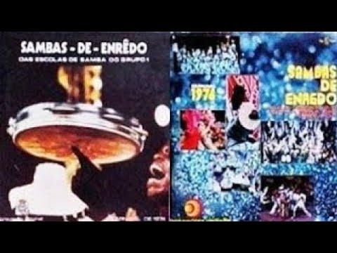 🎵 Grandes Sambas Enredo Carnaval Especial Rio 1974 / 1975 / 1976  🎵