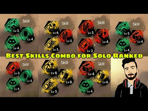 Best Skills Combinations For Solo Ranked Matches In Garena Free Fire By DEATH RAIDER GAMIG