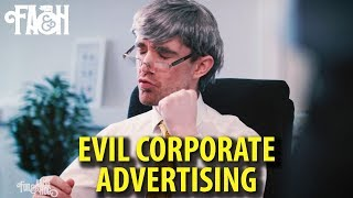 Evil Corporate Advertising - Foil Arms and Hog