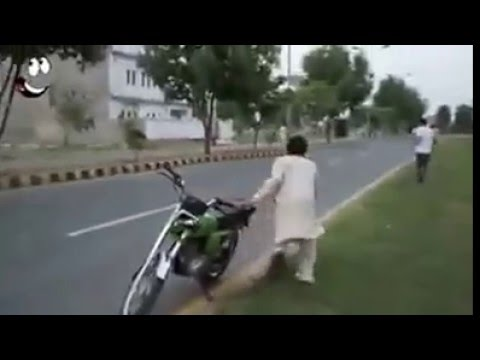 Funny bike Stolen and boys fight LOL :D - YouTube