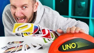 UNO Attack Challenge! Team Edge Throwback!