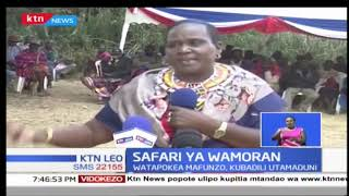 Vijana wa Moran wa Samburu wanasafiri kuenda Ujerumani kuendeleza utamaduni