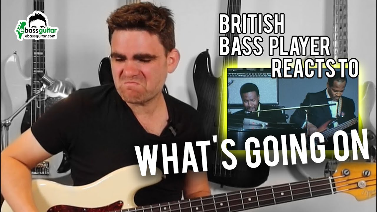 British Bass Player Reacts: James Jamerson on What's Going On (Marvin Gaye)