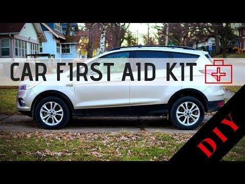 Build a Car First Aid Kit
