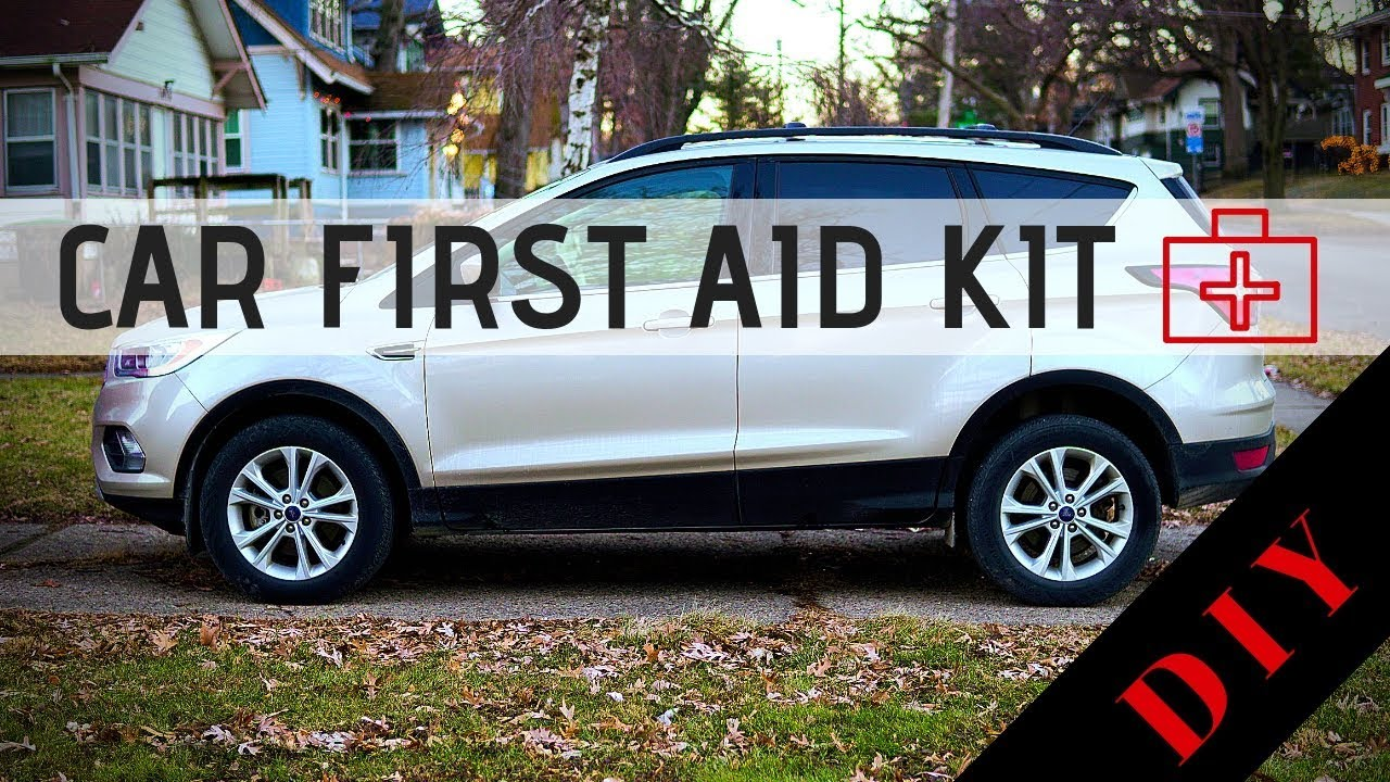 Build A Car >> Build A Car First Aid Kit