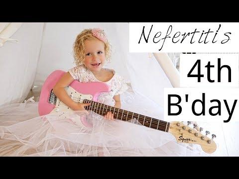 Nefertiti's 4th B'day- SPECIAL!
