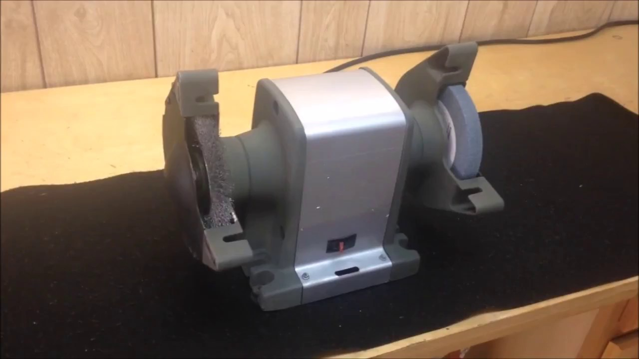 Vintage Sears Bench Grinder Restoration Youtube